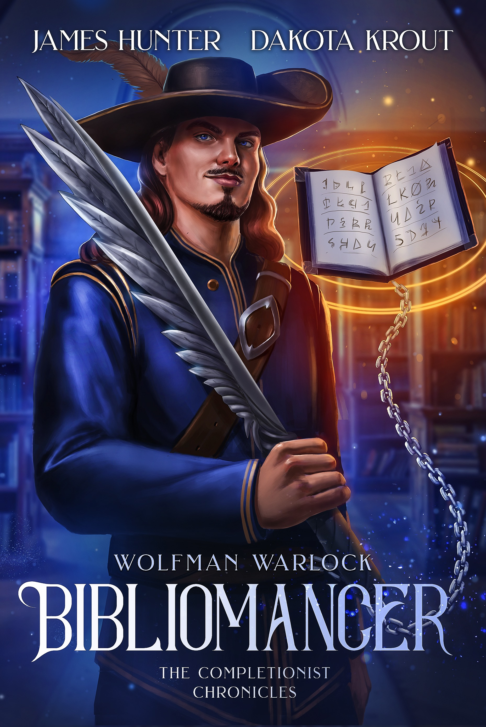 Wolfman Warlock: Bibliomancer