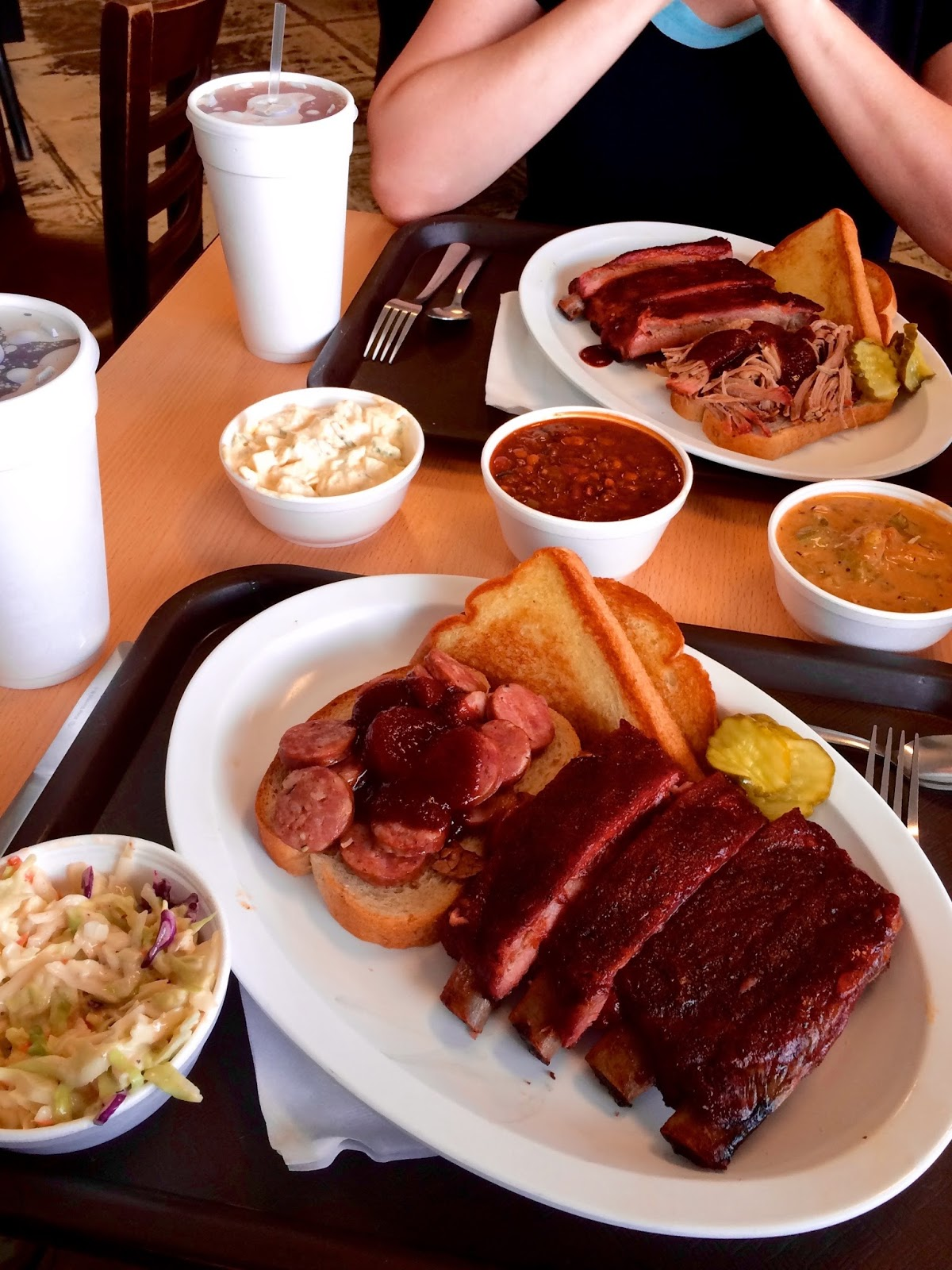 And of course the real reason we go to Kansas City every year. Best BBQ on the planet.  Joe's Kansas City BBQ .