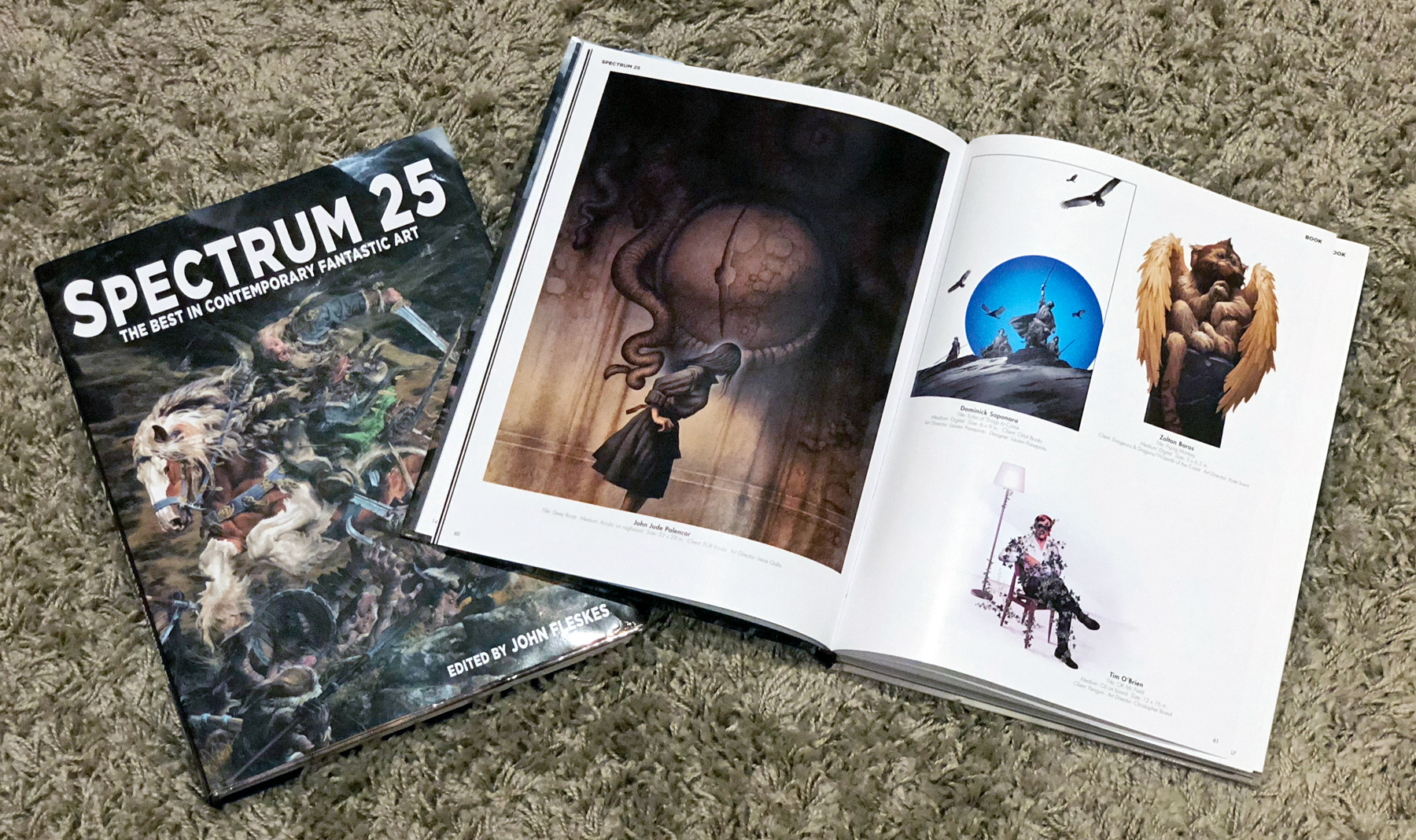 Spectrum 25 Artist Copy Featuring Dominick Saponaro