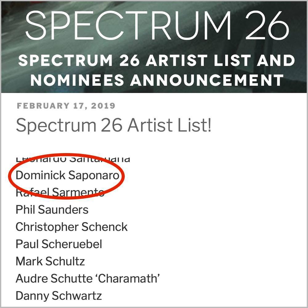 Spectrum 26 Artist List - Dominick Saponaro.jpg