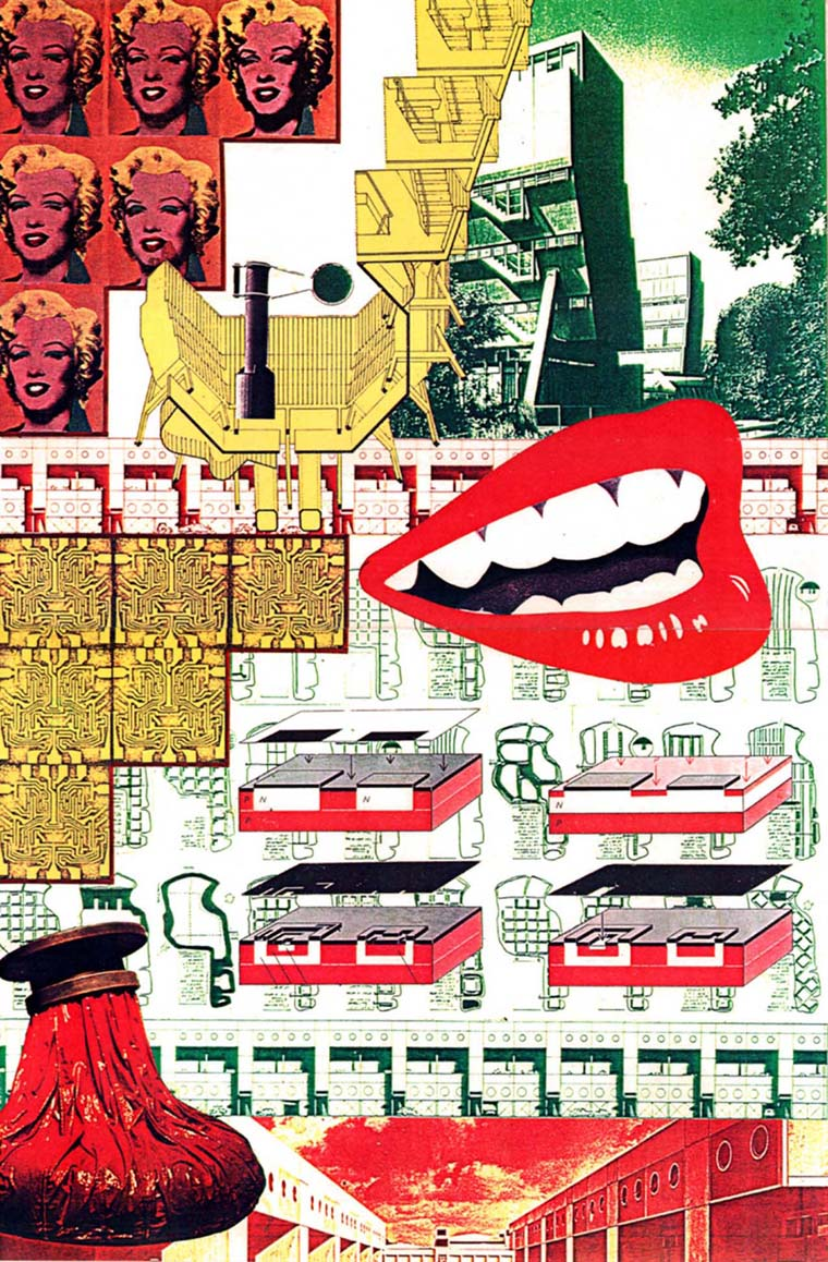 Collage by Craig Hodgetts