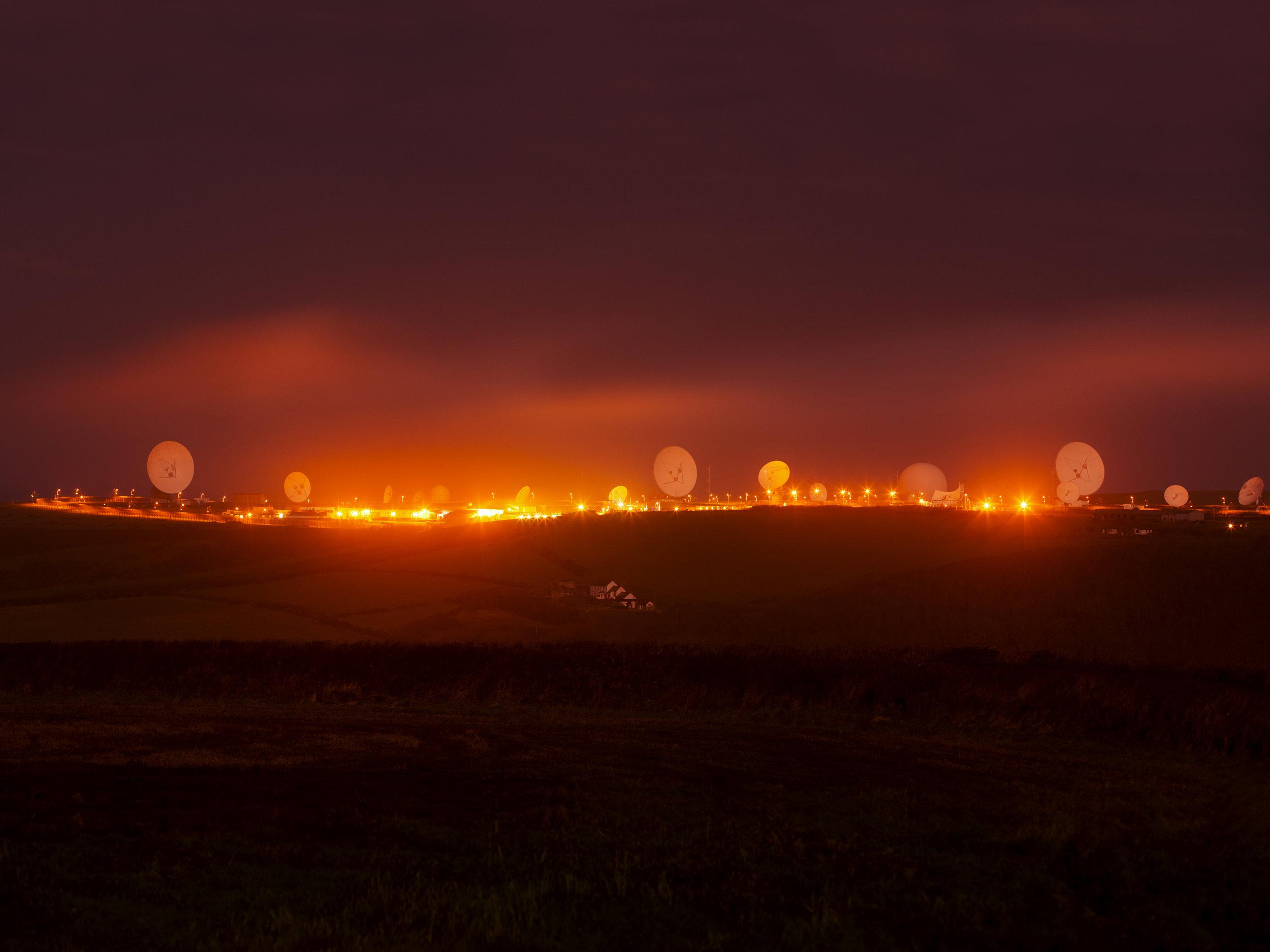 Trevor Paglen, NSA/GCHQ Surveillance Base, Bude, Cornwall, UK, 2014