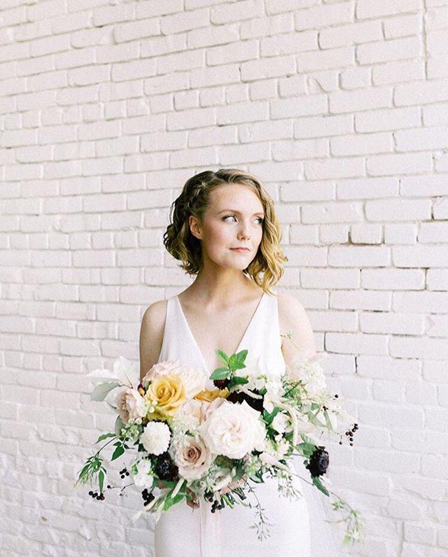 Erika on her wedding day 💞