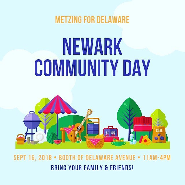Looking for something fun to do with the family Sunday afternoon? Come out to Newark Community Day. I'll have a booth set up on Delaware Avenue and will be giving out free snow-cones as always.