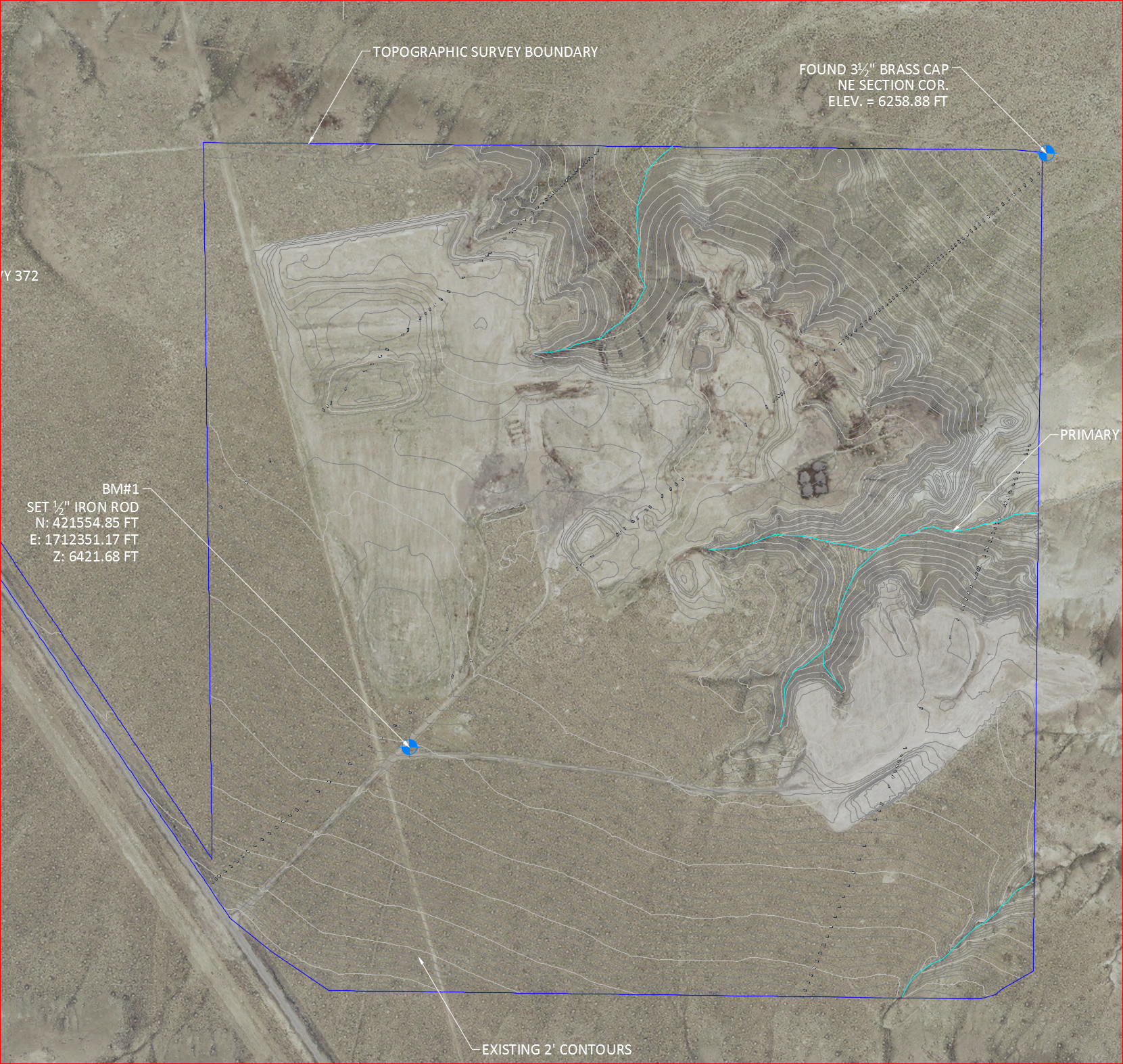 Sweetwater, TX - Topographic Survey