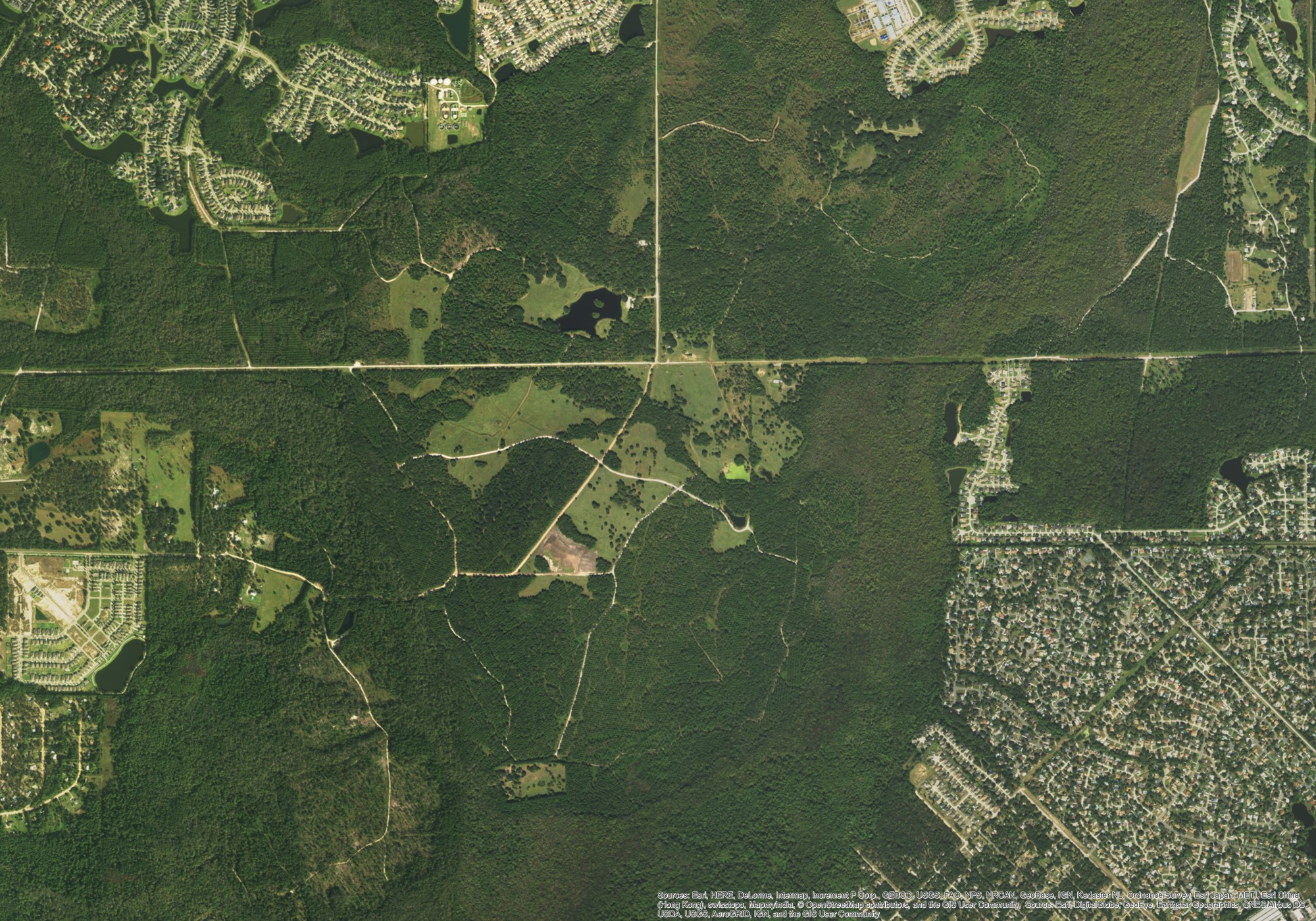 Oakleaf, FL - 150MW PV Civil Design