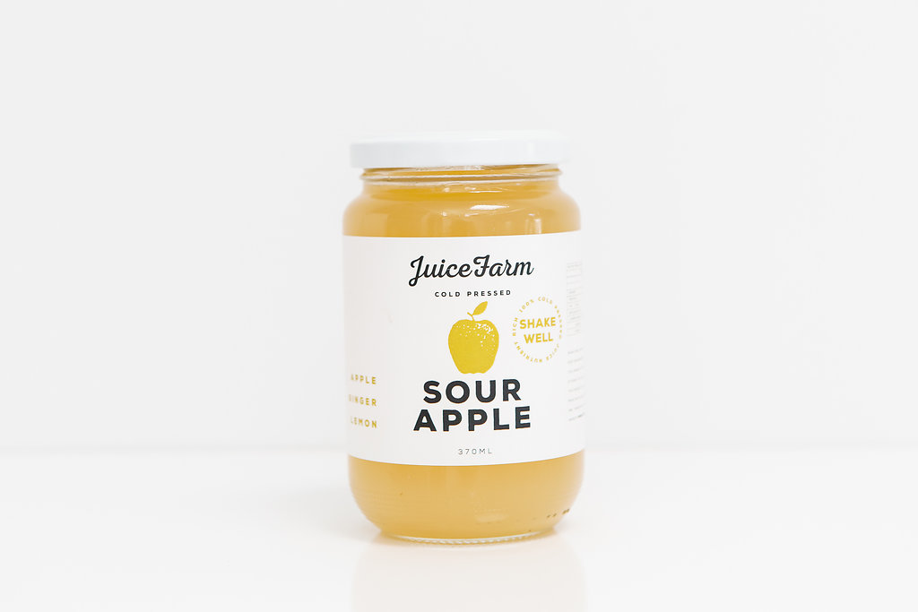 Sour Apple   Ingredients: Apple, Ginger, Lemon