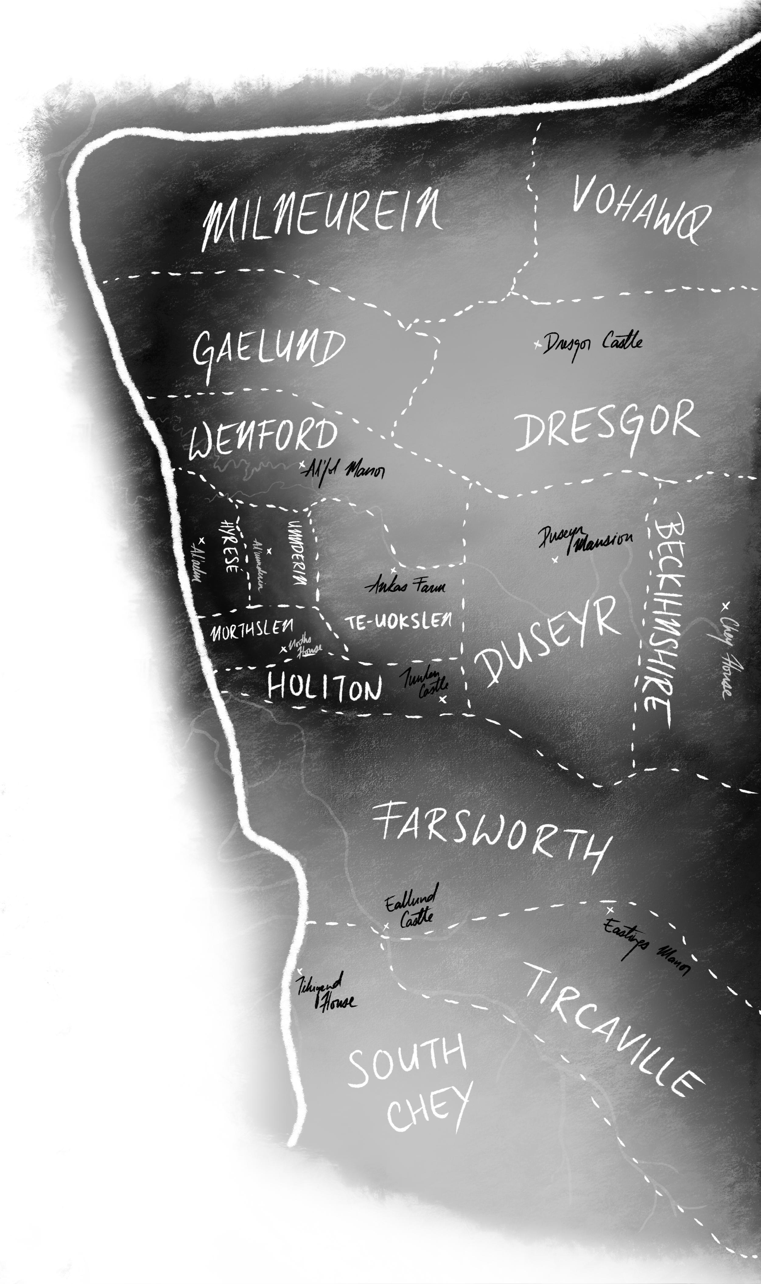 The Provinces of Al'esict Neradsof, 8042 (full map below)
