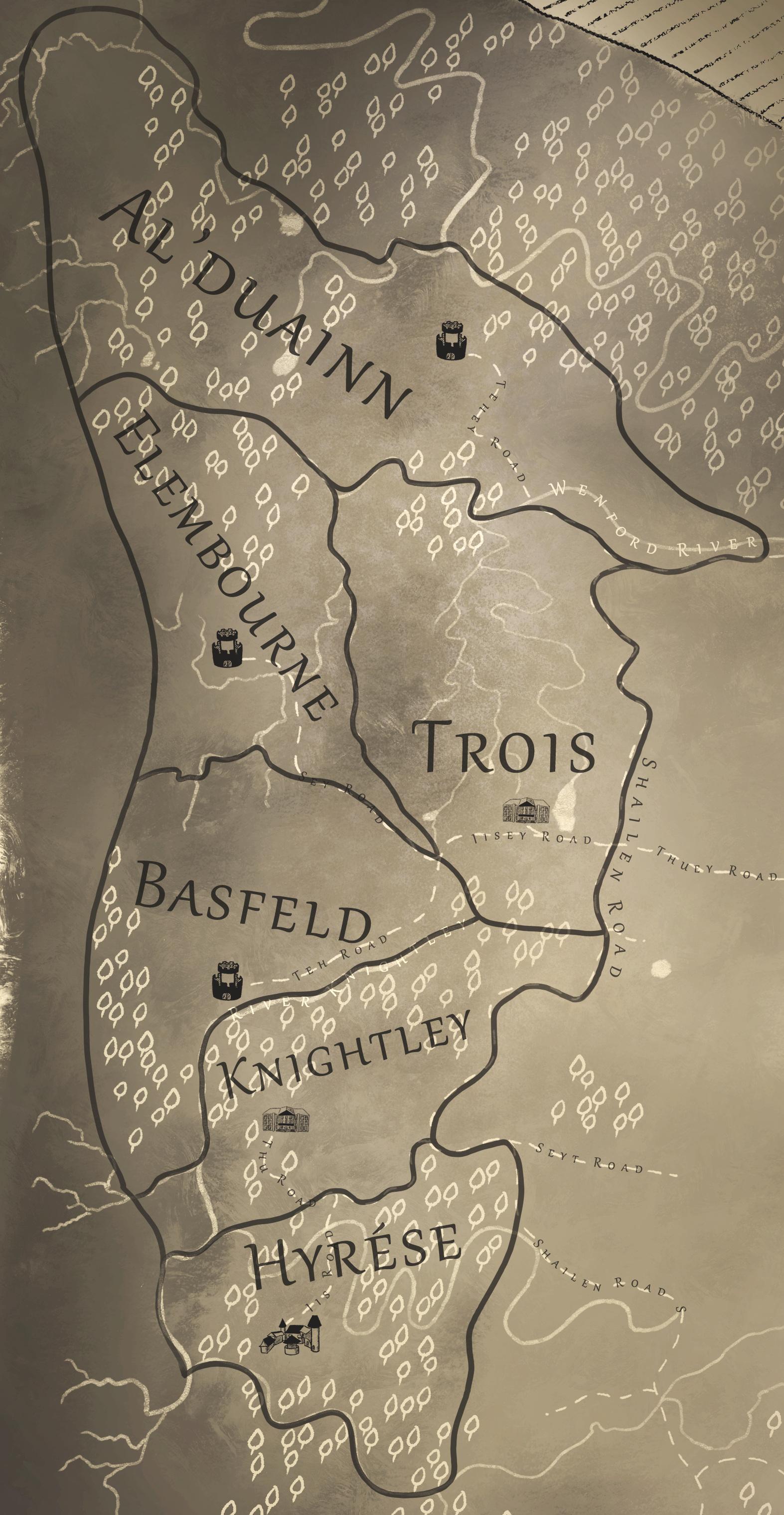 The Hyrése Estates of the Westingham Highlands, est. 8600