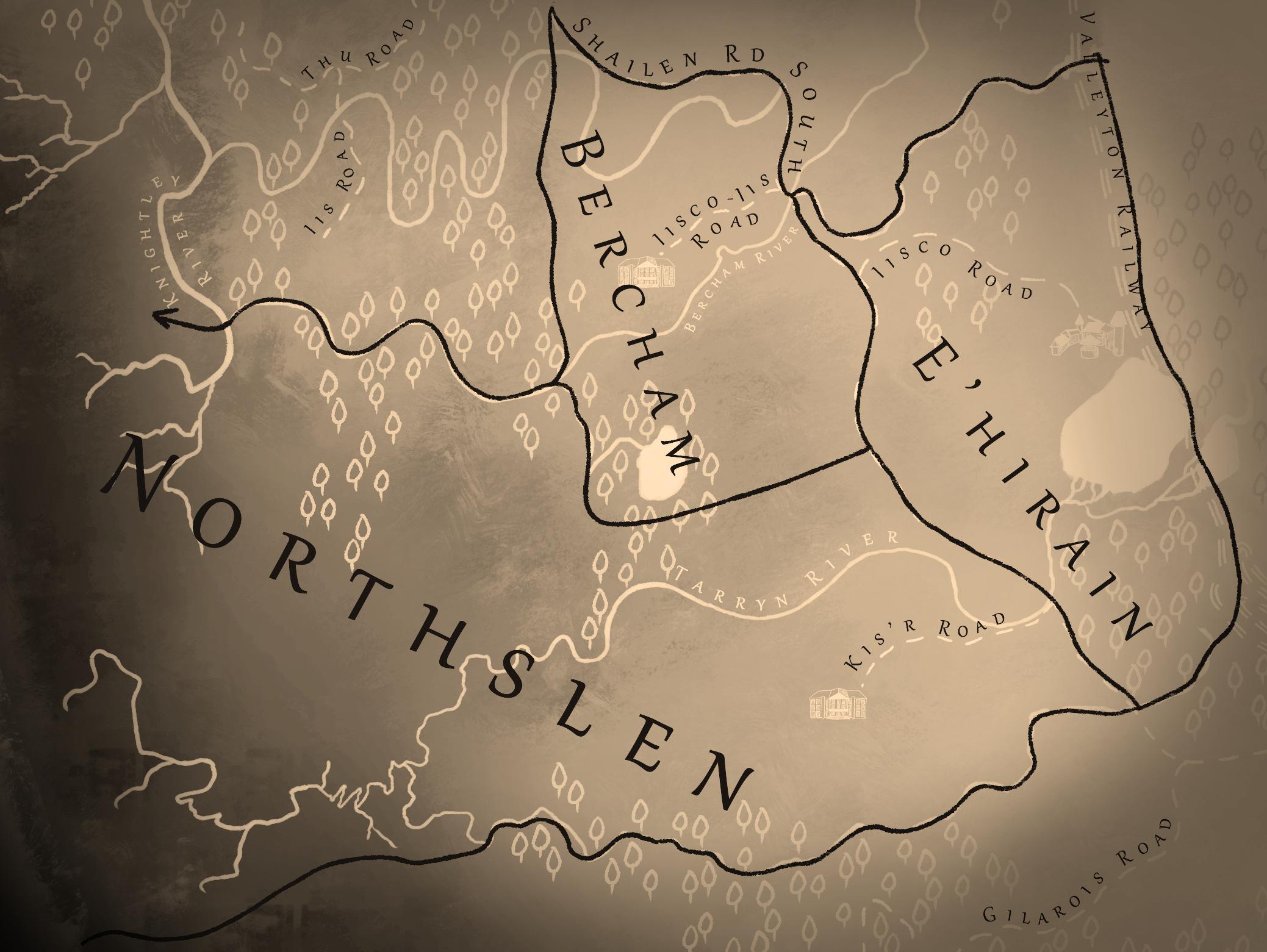 The Northslen Estates of the Westingham Highlands, est. 8600