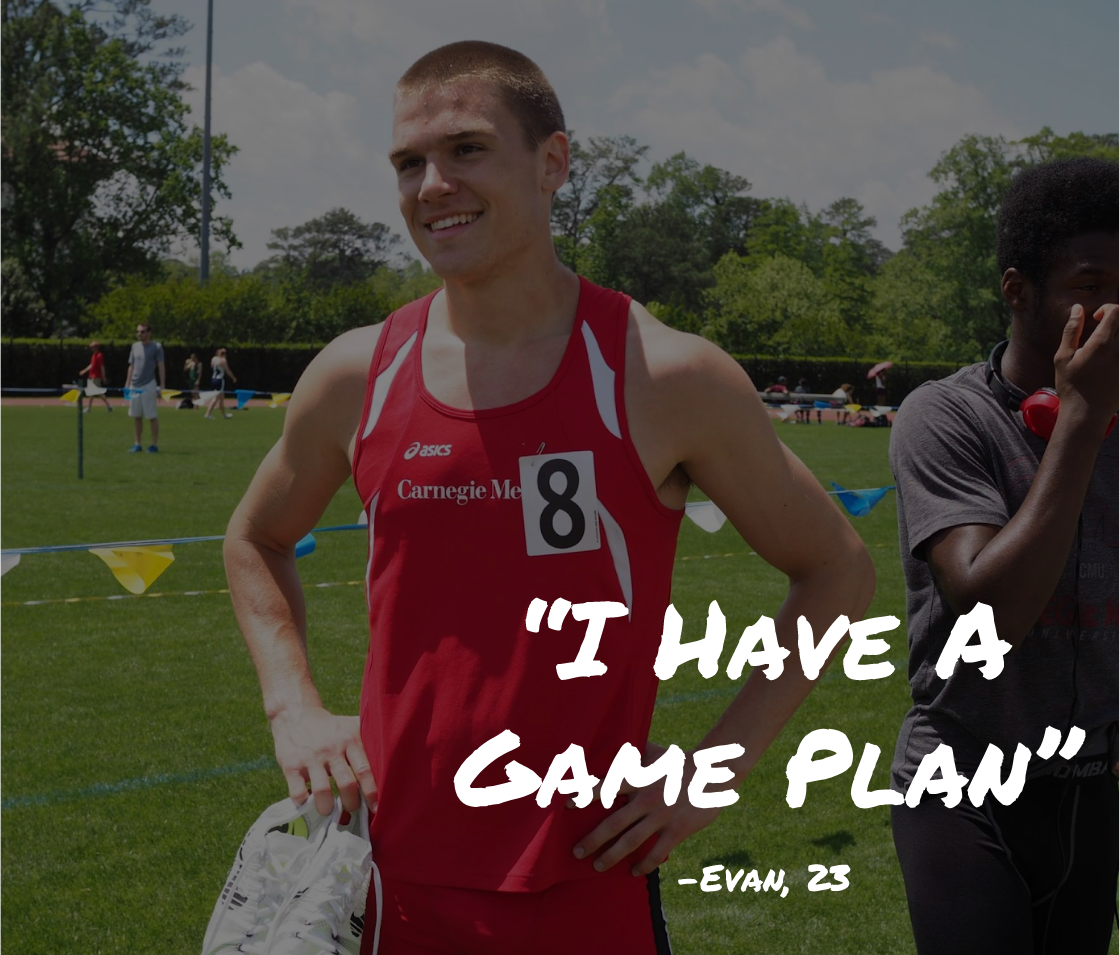 Evan Larrick is a recent graduate of Carnegie Mellon University where he excelled on the track as a conference champion and school record breaker. Impressive off the track as well, Evan studied the field of Applied Physics.