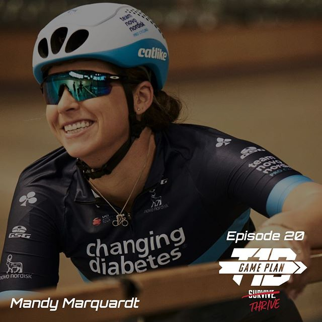 Episode 20 is LIVE 💥⚡️🚴‍♀️ ————————————————— Had the opportunity to chat with @mandymarquardt about her journey as a diabetic athlete. 15 National Titles, 2 National Records, numerous Pan-American medals in sprint cycling, ALL achieved with T1D. Now Mandy has her sights set on the 2020 Olympic Games in Tokyo. Tune in now to hear her amazing story! @teamnovonordisk @usacycling ————————————————— #diabeticathlete #t1dathlete #gameplant1d #findyourgameplan