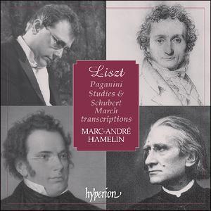 Liszt: Paganini Studies & Schubert March - iTunes   Amazon