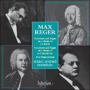 Reger: Piano Music - iTunes | Amazon