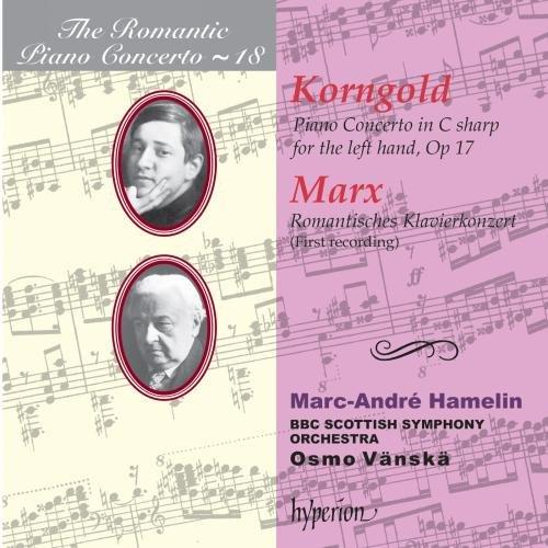 Korngold & Marx: Piano Concertos - iTunes | Amazon