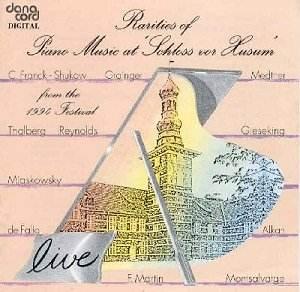 Rarities of Piano Music at Schloss vor Husum, 1994 Festival -