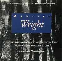 Maurice Wright: Chamber Symphony, Night Watch, and more - Amazon