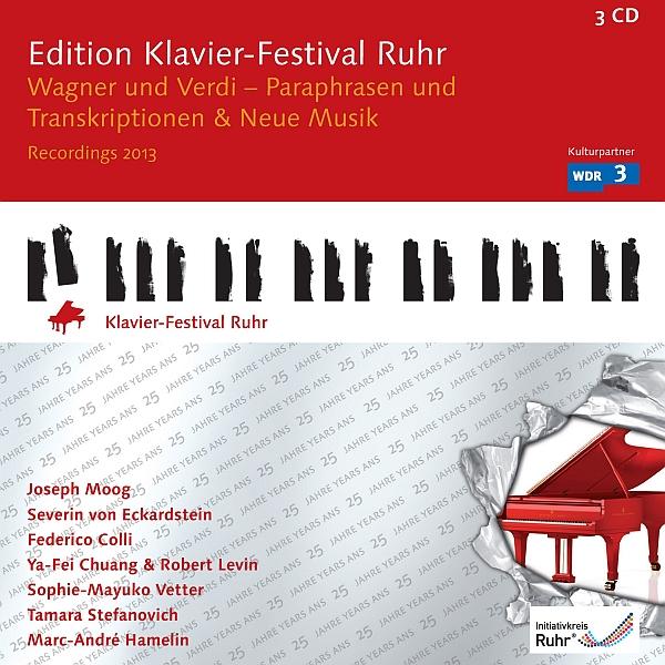 Edition Klavier-Festival Ruhr Vol. 31: Wagner und Verdi -