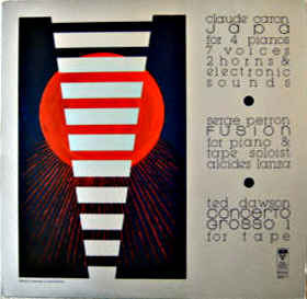 Electronic Music by Caron, Perron and Dawson - Discogs