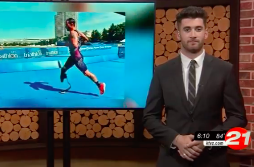 Bend paratriathlete eyes 2020 Tokyo Olympics - KTVZ | Max Goldwasser | August 19, 2019