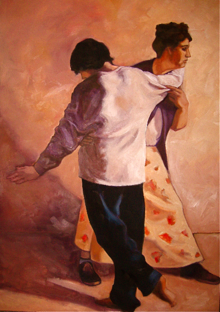 THE MOTHER'S DANCE  OIL  $2200
