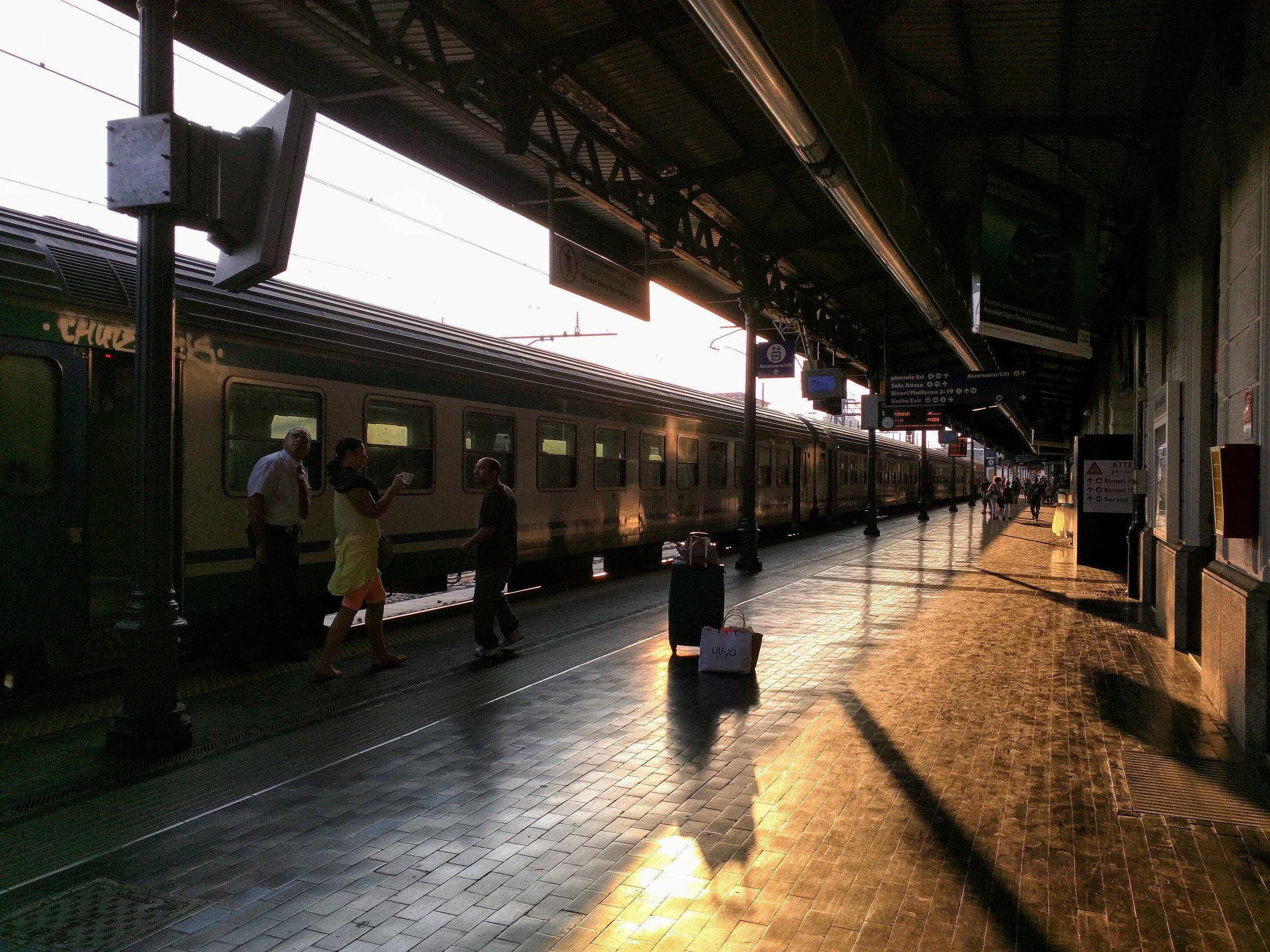 Bologna Centrale Train Station