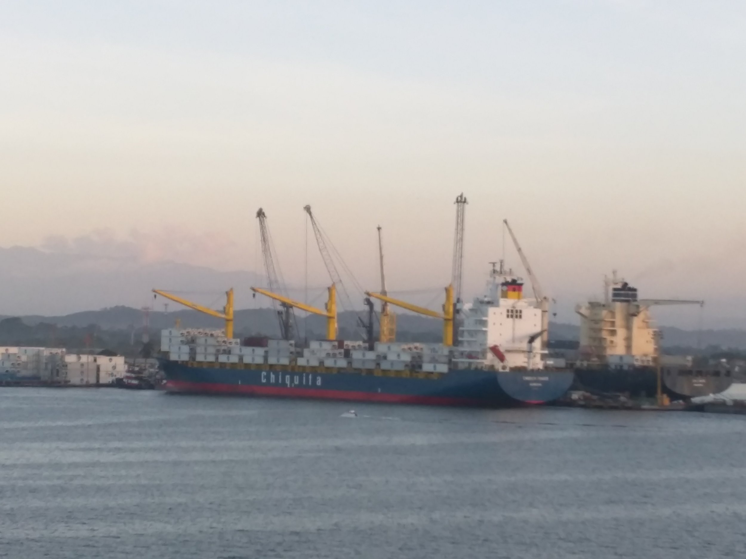 Guatemala: Containers and Cargo Ships
