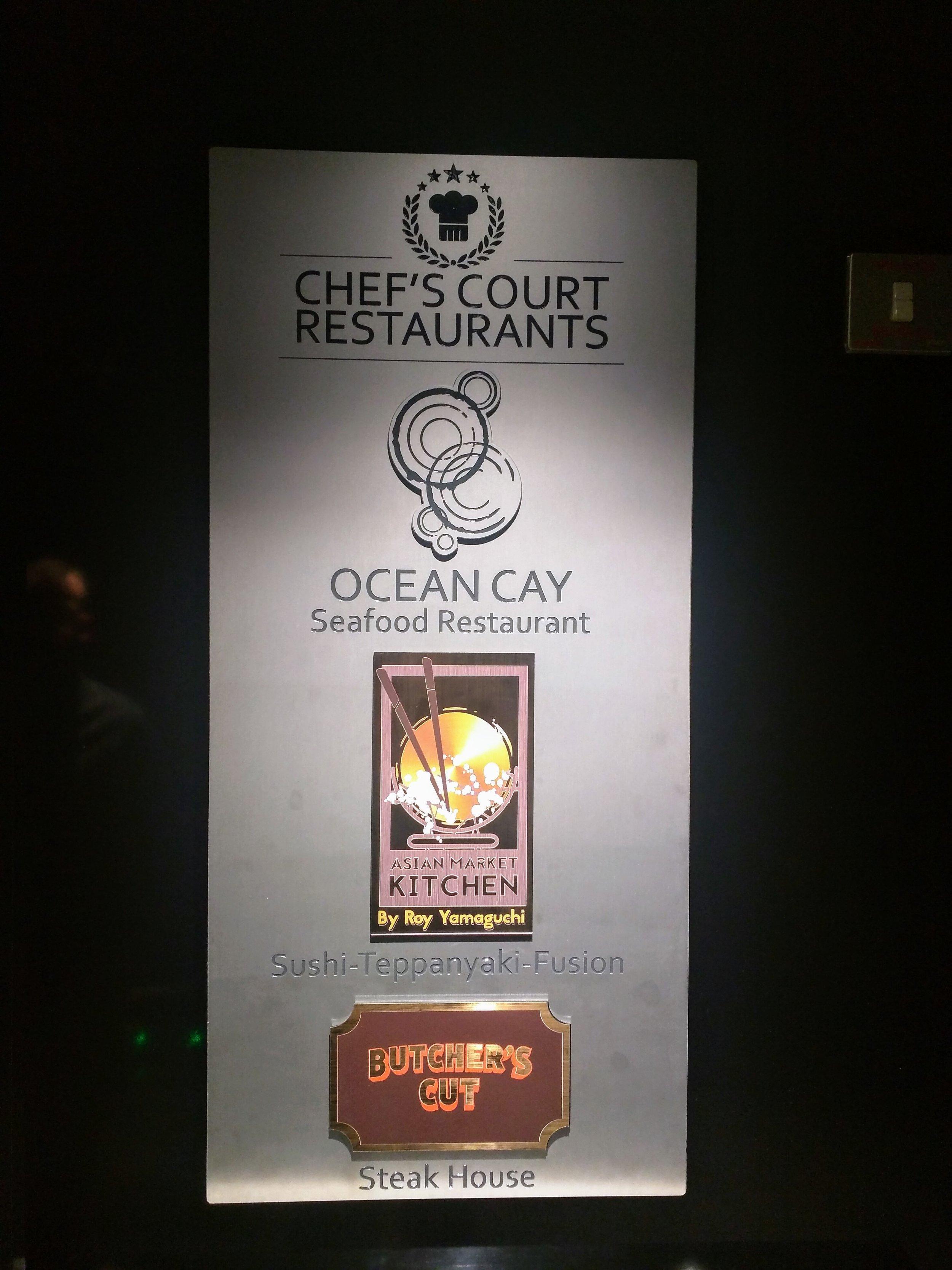 Specialty Restaurants