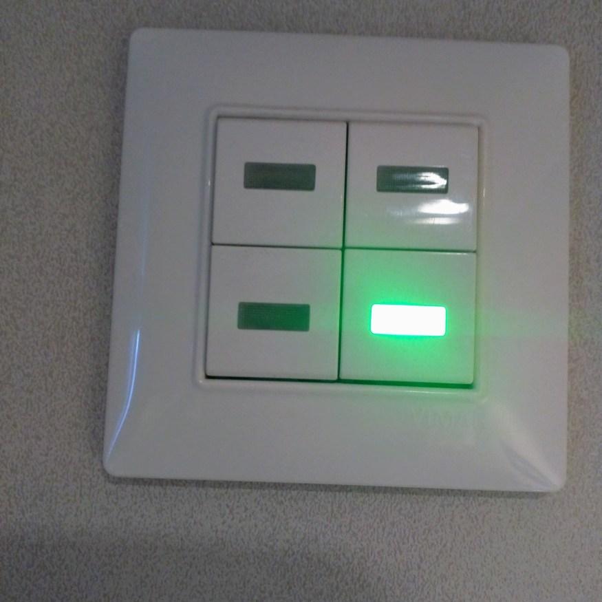 Indicator Lights Outside
