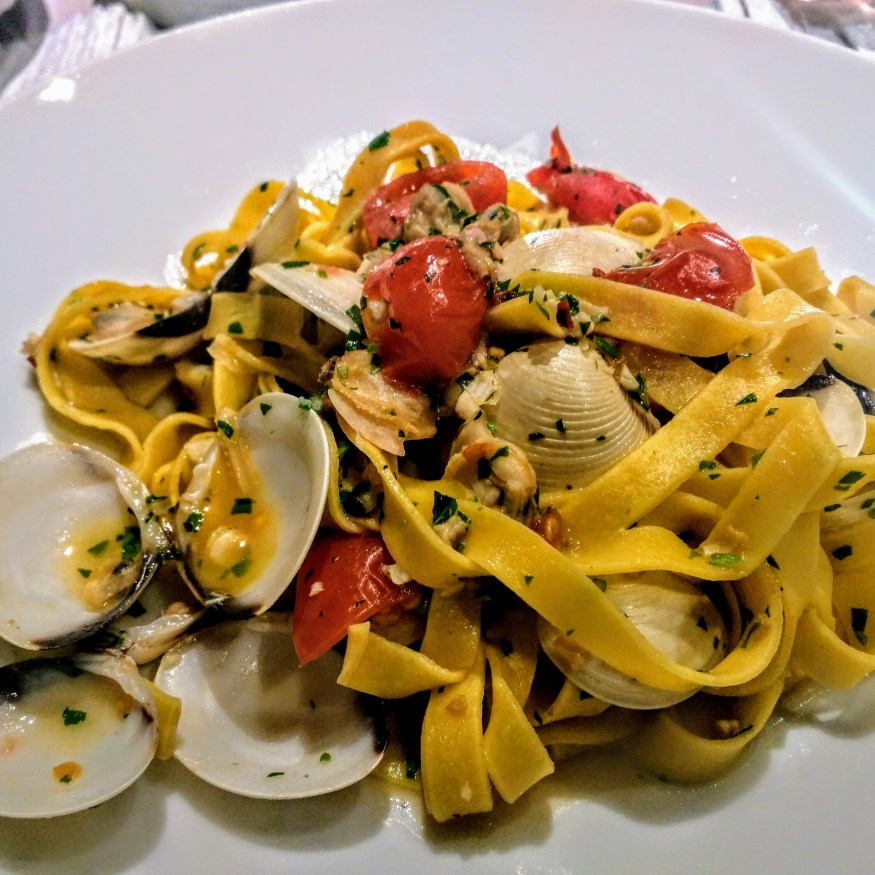 Fettuccine with Clams