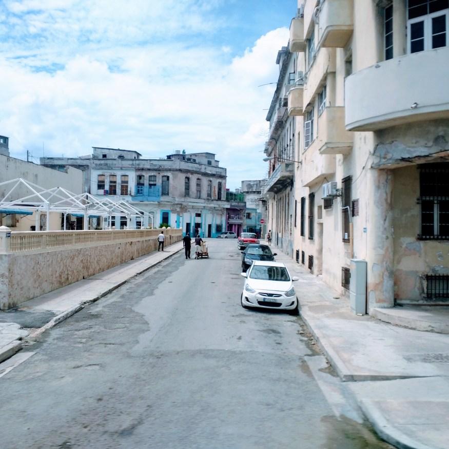 Side Street in Havana