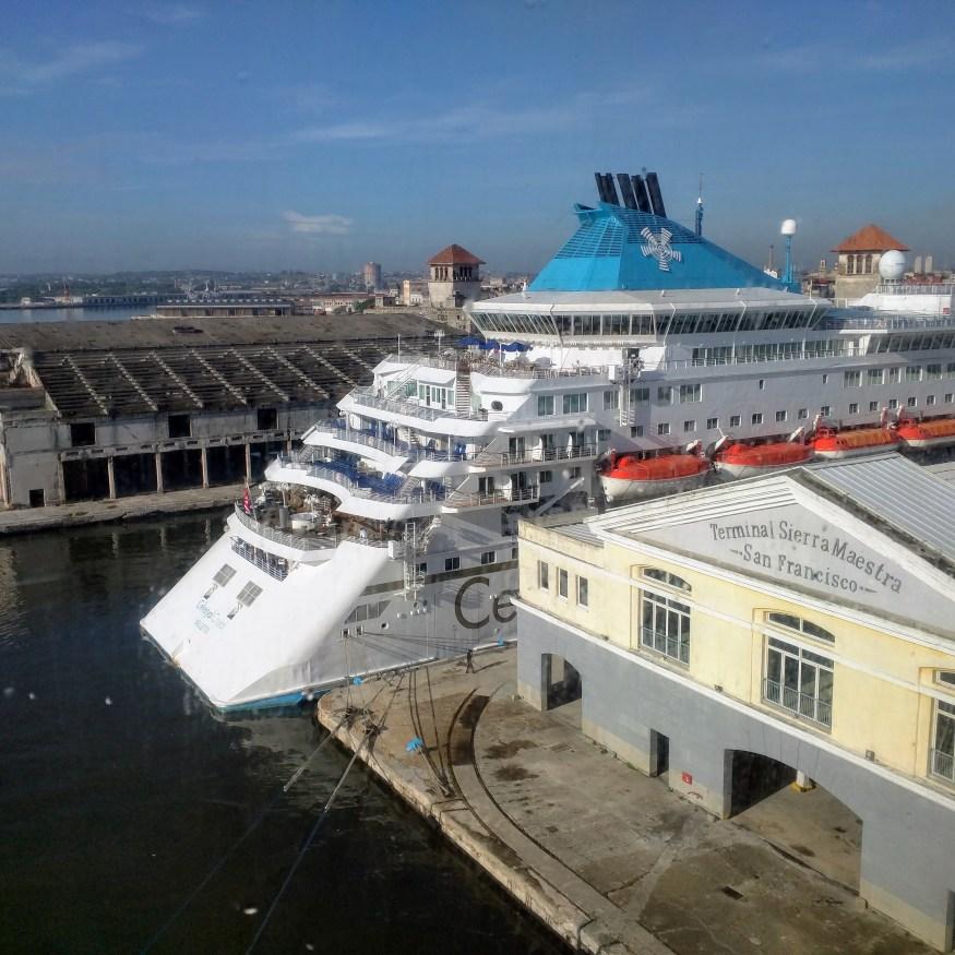 Cruise Terminal in Havana