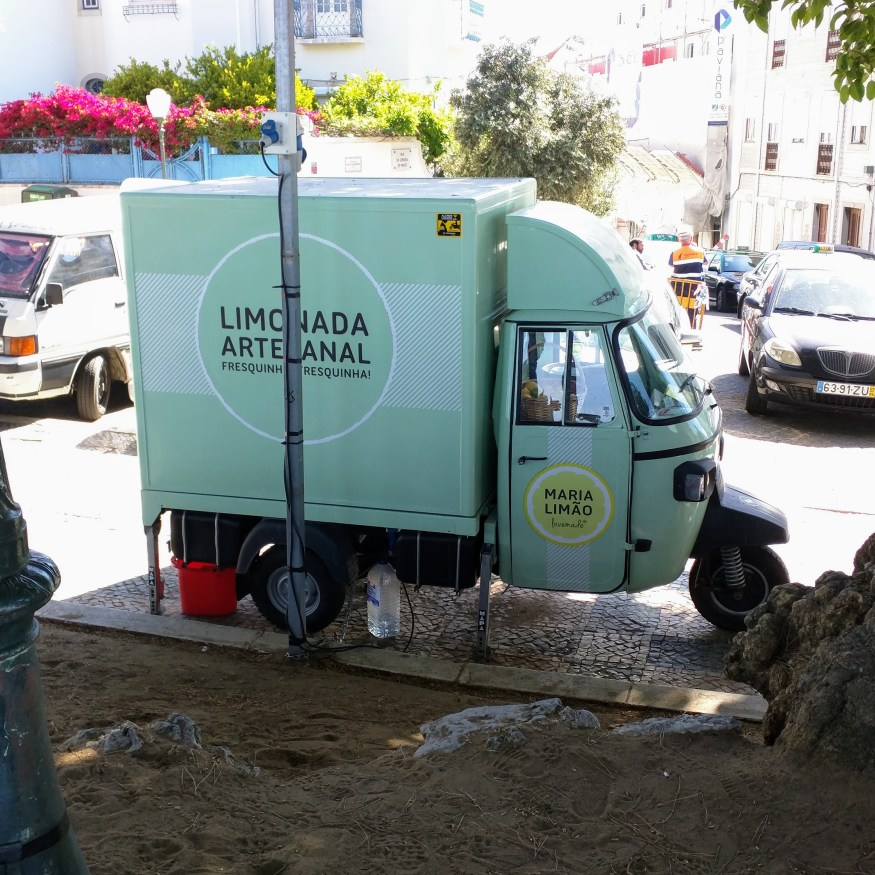 Cute Artisanal Lemonade Truck