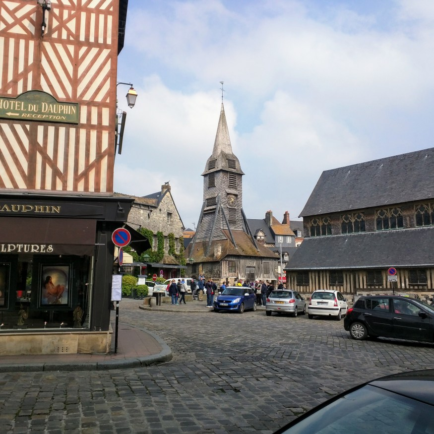 Wooden Church in Honfleur