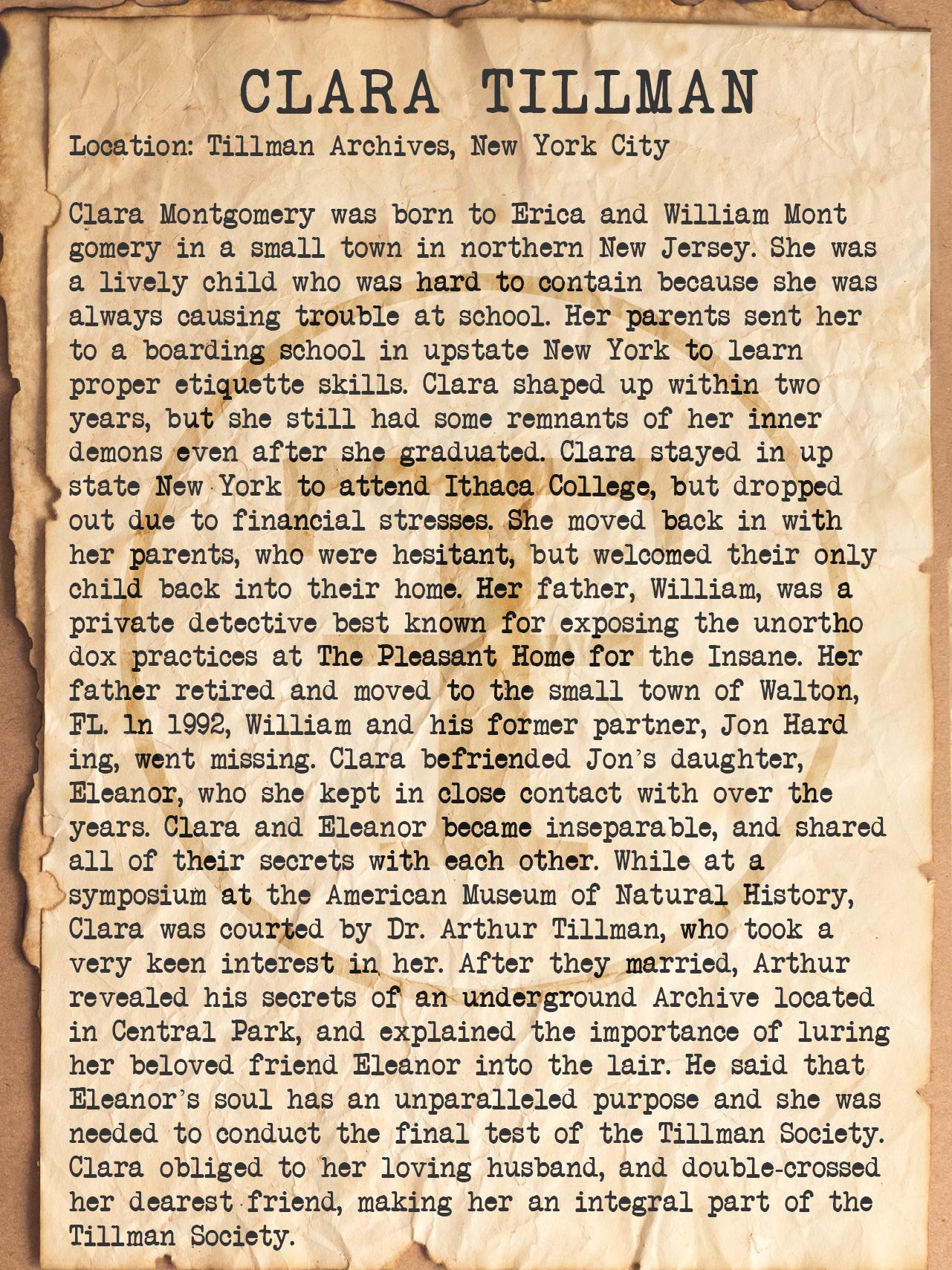 Clara Tillman Files.jpg