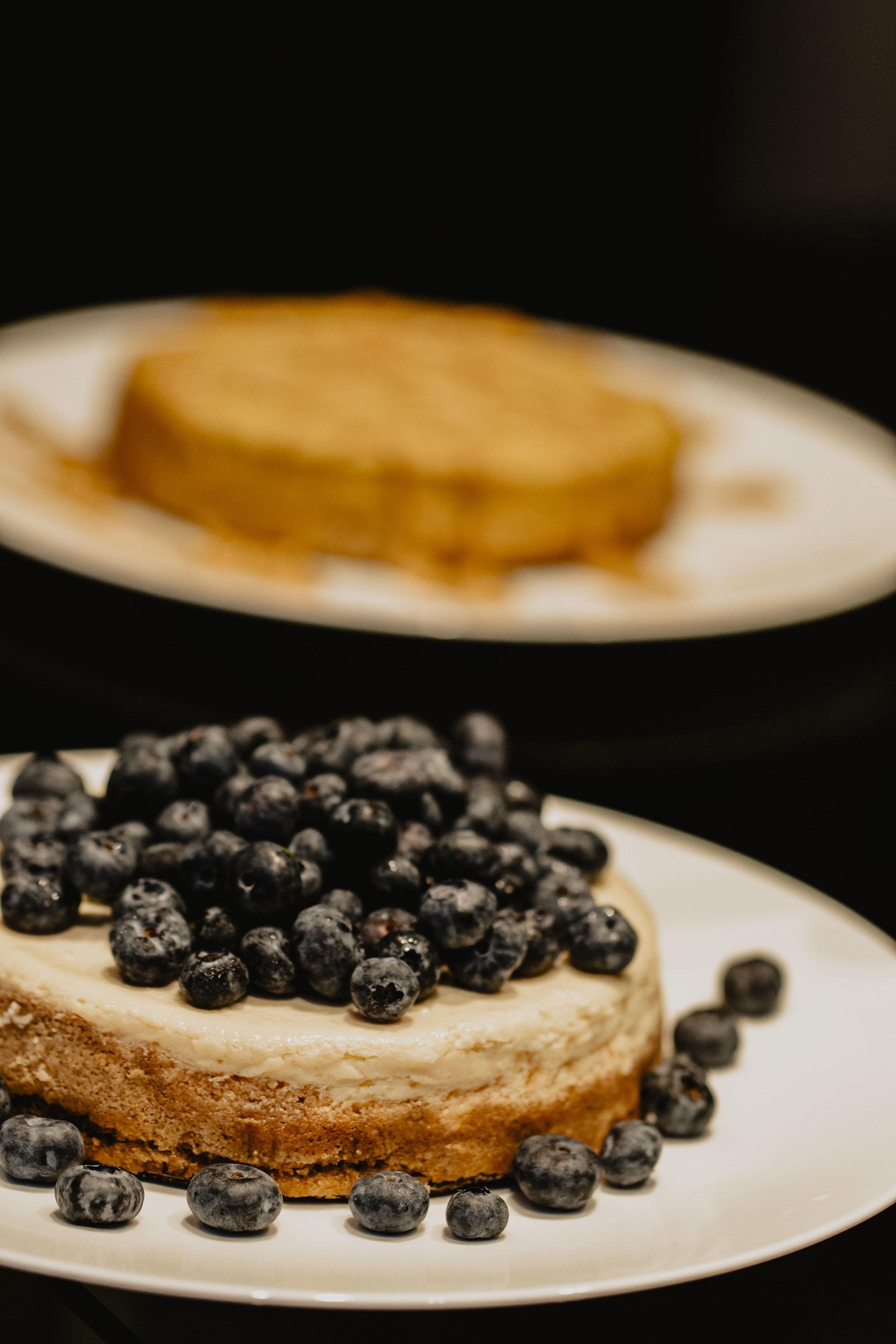 NY Cheesecake W Blueberry's