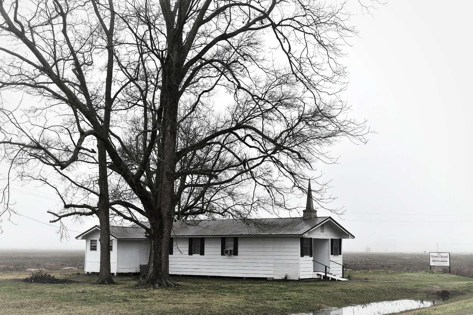 (Photo: Marc Boswell) A rural church in the Delta