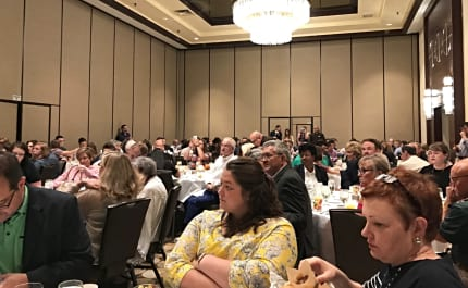 The launch of the Affirming Network at a breakfast during CBF's 2018 General Assembly in Dallas, Texas.