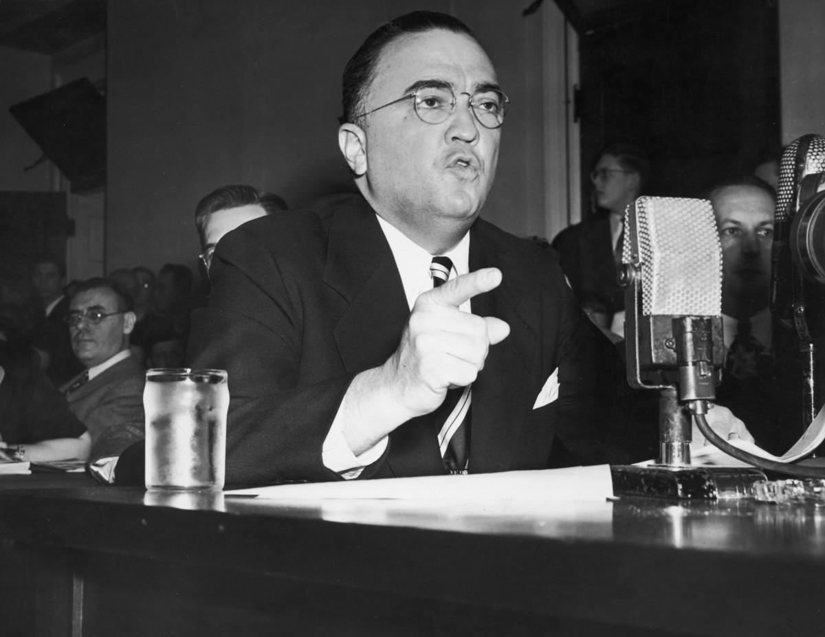 FBI Director, J. Edgar Hoover