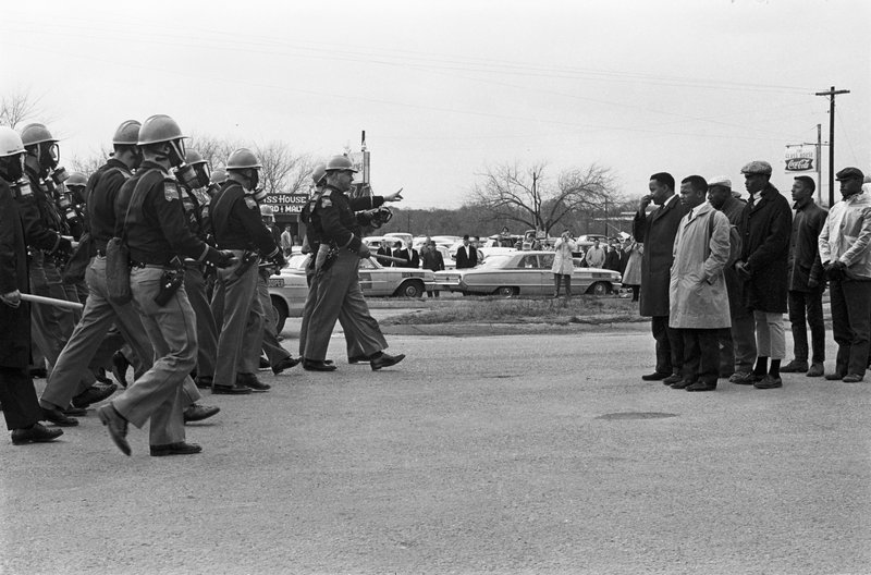 (Photo by Spider Martin) Bloody Sunday, Selma, Alabama