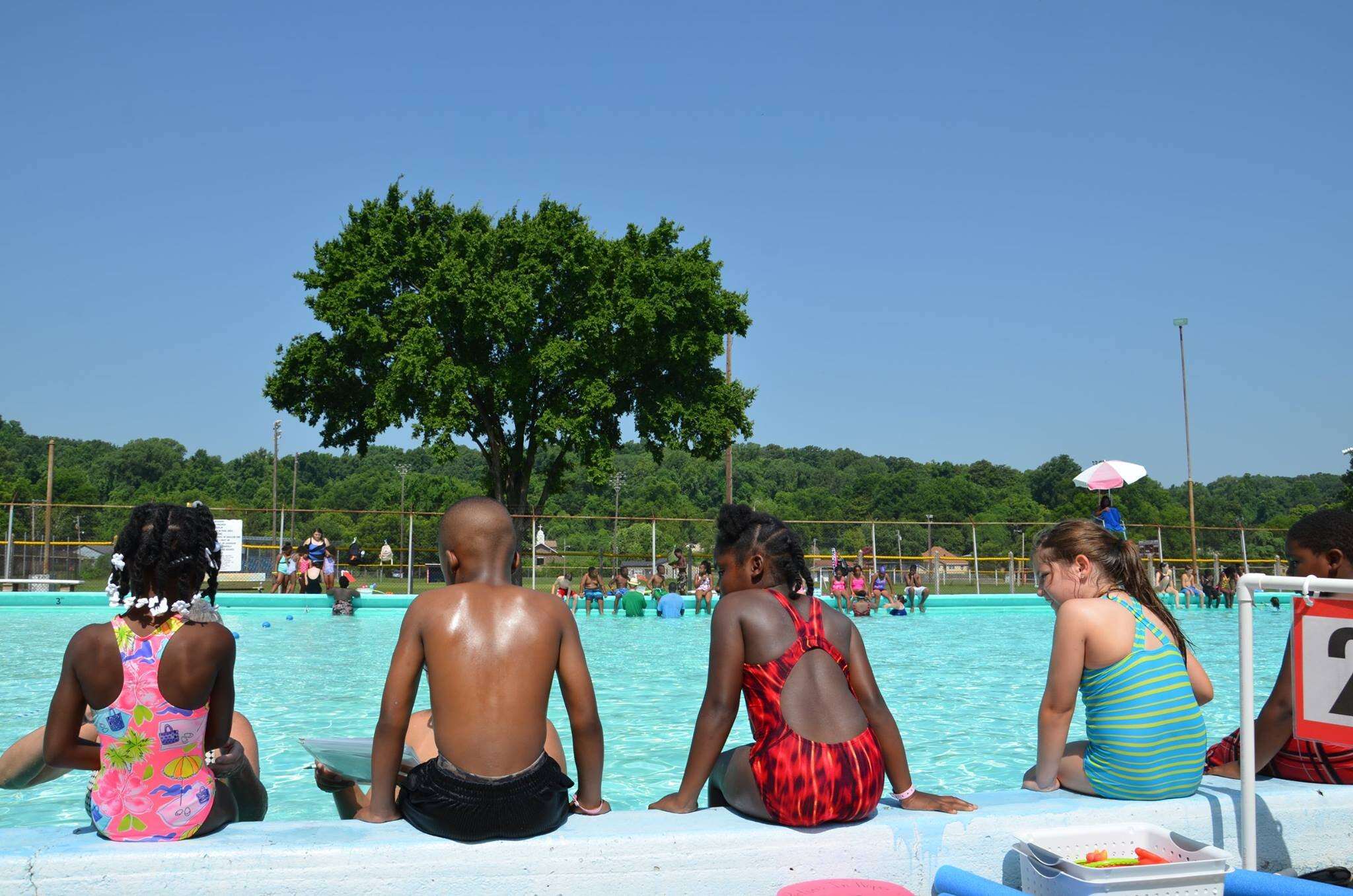 Swim Camp, Helena, Arkansas (Photo unknown)