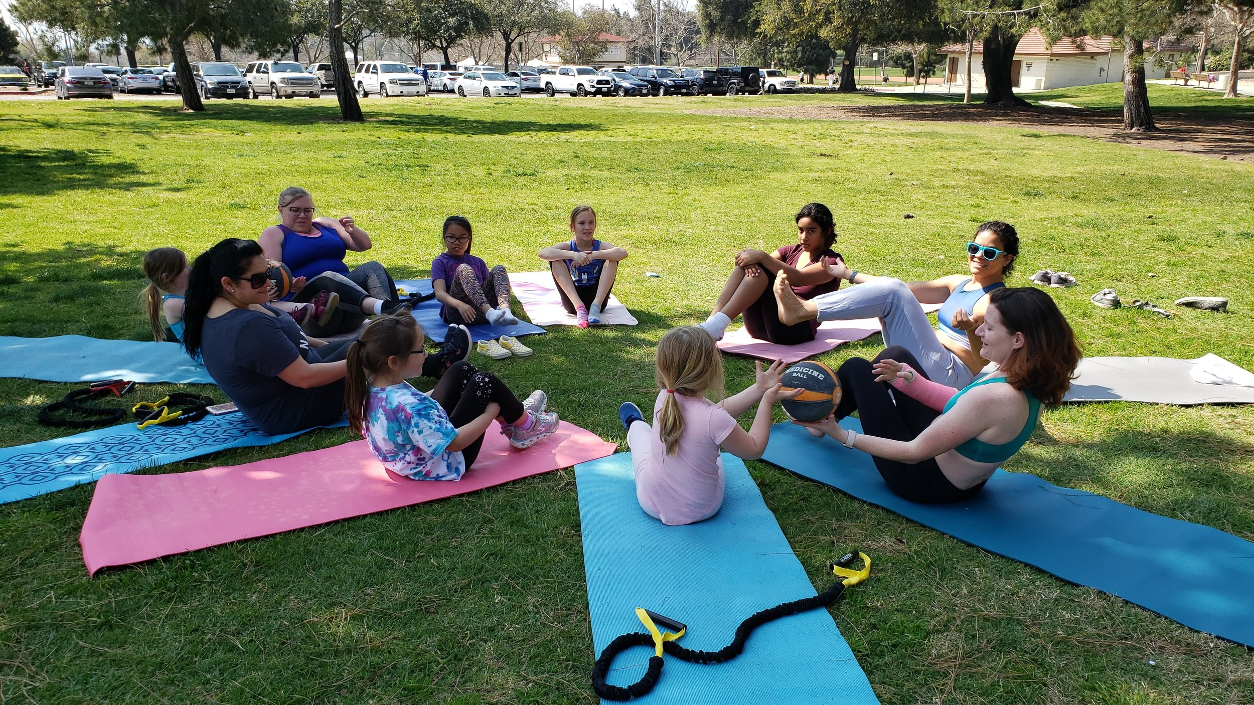 """Girls Scout - Badge Event""""Fitness For Fun"""" - Participants (parents and scouts) get to engage in a two hour recreational fitness event that challenges the body and mind. Learning the importance components of health and fitness.This is a private party event. Any one can participate!"""