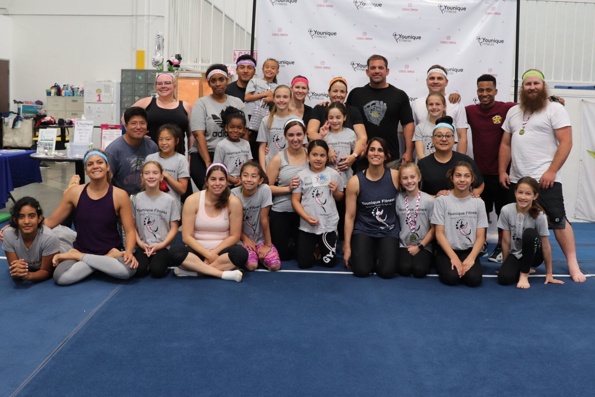 """""""Bring Your Parent To Gym Day"""" - May 19th, 2019 - Hosted at any gymnastics, cheer gym, outdoor/indoor facility.This event is super fun. Get your parents to compete against you on varies fitness challenges that will have you laughing."""
