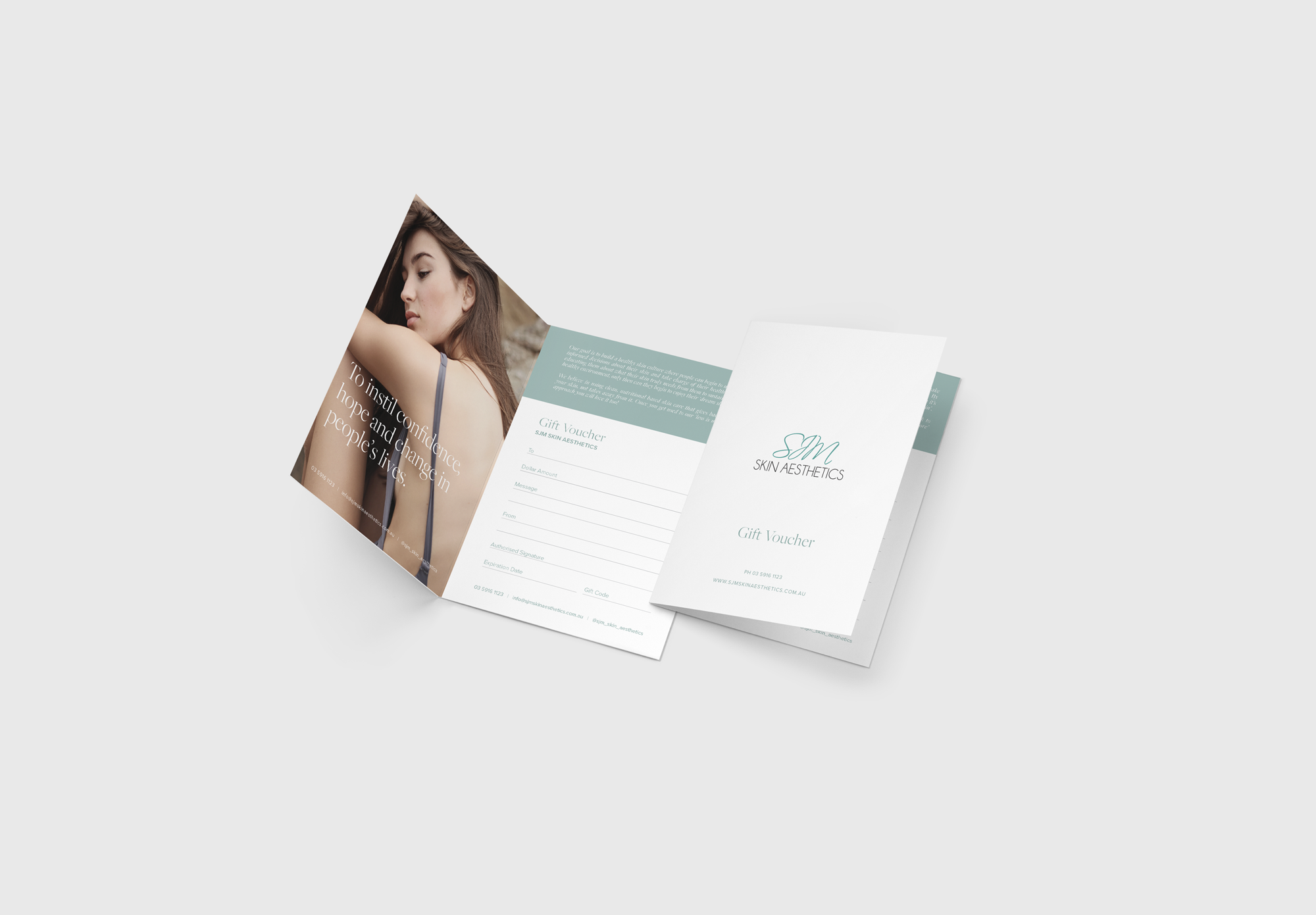 gift card design and packaging