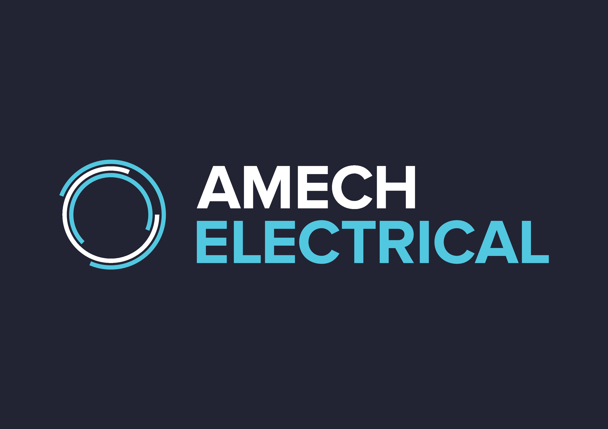 electrical company brand design