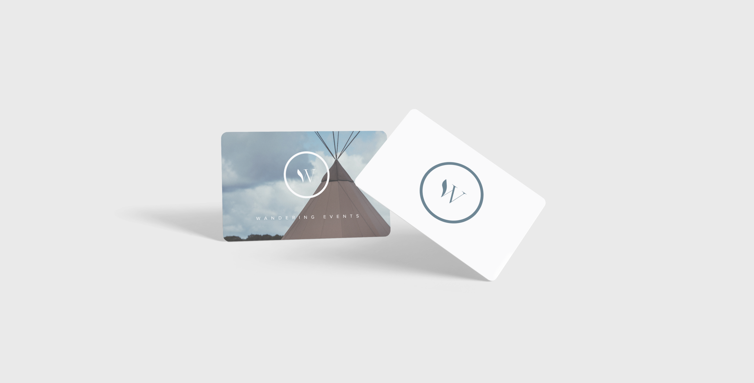 business card design for event company