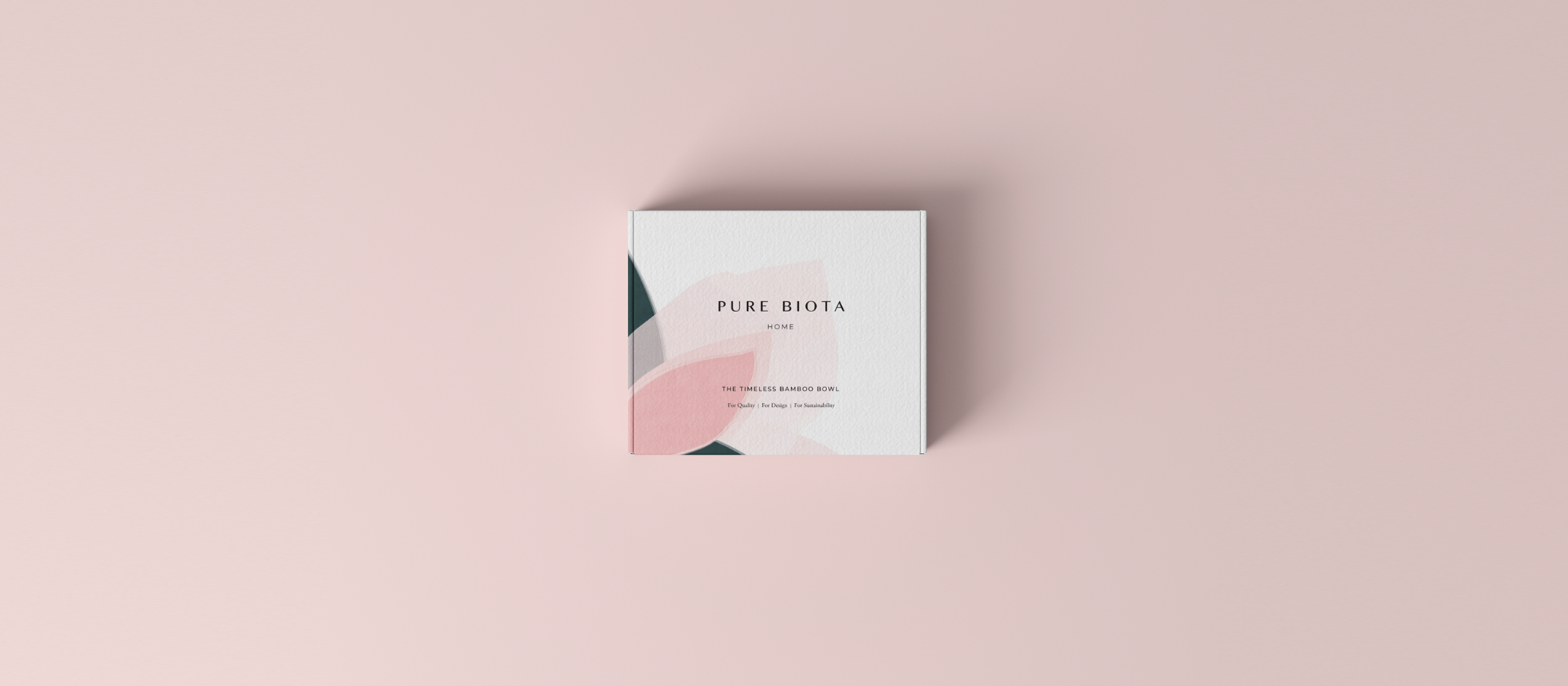box packaging design two tone, pink and green