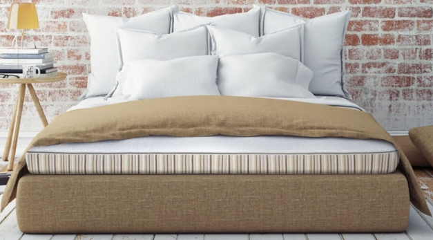Essentia mattresses: We have the Dormeuse and the girls have the Stratami
