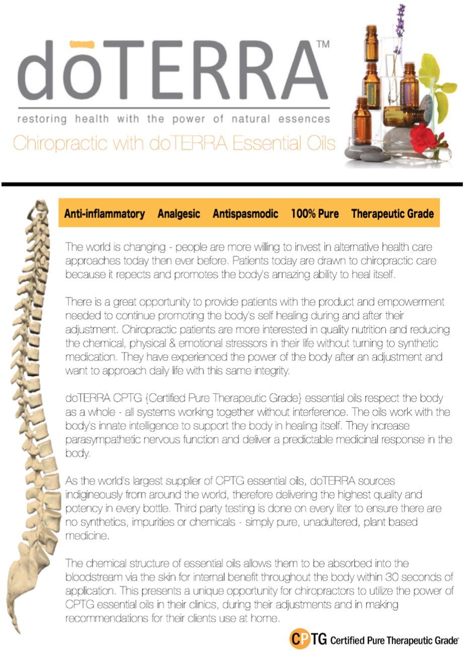 doterra chiropractors