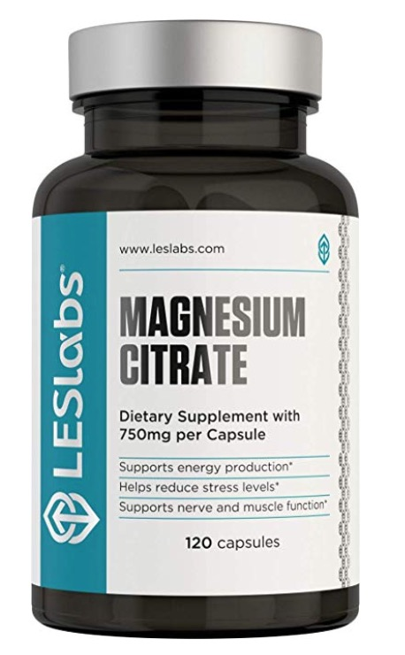Mag Citrate - take 1 at night if constipated